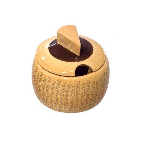 Formaggera in ceramica con logo Parmigiano Reggiano