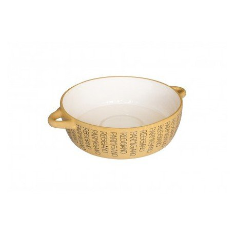 Spaghettiera in ceramica con logo Parmigiano Reggiano